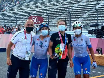 Ciclismo femminile, Elisa Longo Borghini bronzo olimpico come a Rio! Vince Kiesenhofer dopo una fuga bidone!