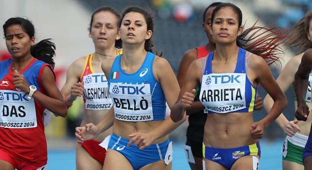 """Atletica, Elena Bellò: """"Penso di aver fatto una buona volata, ma sognavo qualcosa di completamente diverso"""""""