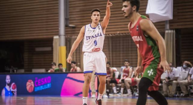 Basket: Italia sconfitta dalla Spagna agli European Challengers U20 2021. Domani sera l'ultimo match contro l'Albania