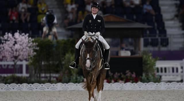 Equitazione, dressage Aachen 2021: torna a vincere Isabell Werth, sconfitta Dinja van Liere