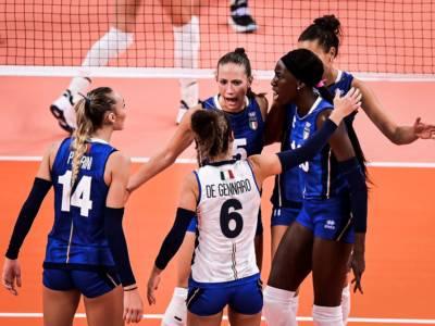 Italia-Turchia oggi, Olimpiadi volley femminile: orario, tv, programma RAI, streaming