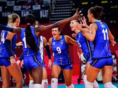 Italia-Serbia oggi, orario Olimpiadi Tokyo volley femminile: tv, programma, streaming