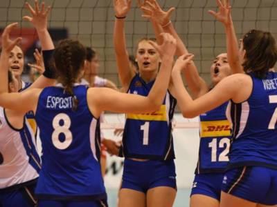 Volley femminile, Europei Under 16: Italia in Finale! Turchia rimontata, ora assalto alla Russia