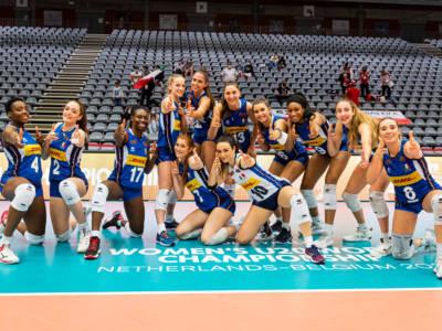 Volley femminile, Mondiali Under 20: l'Italia vola in semifinale, travolta