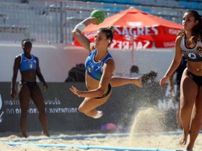 Beach handball, Europei 2021: una sola vittoria per l'Italia nella prima giornata