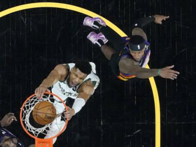 NBA Finals 2021: Phoenix è più forte anche di Antetokounmpo, Bucks ko e finali sul 2-0