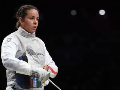 """Scherma Olimpiadi Tokyo, Alice Volpi: """"Dispiaciuta per aver mancato l'oro. Abbiamo lottato fino alla fine e non ce l'abbiamo fatta"""""""