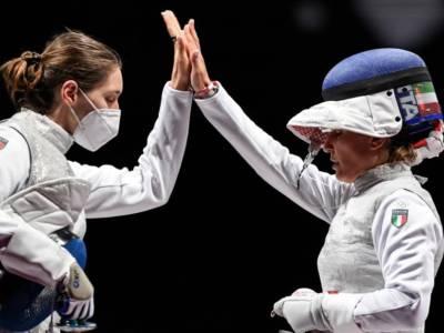 Scherma, l'Italia travolge gli USA e conquista il bronzo olimpico nel fioretto femminile a squadre