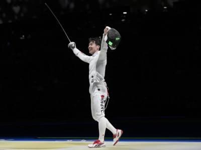 Scherma, Olimpiadi Tokyo: oro storico per il Giappone nella spada maschile. Battuta la Russia in finale