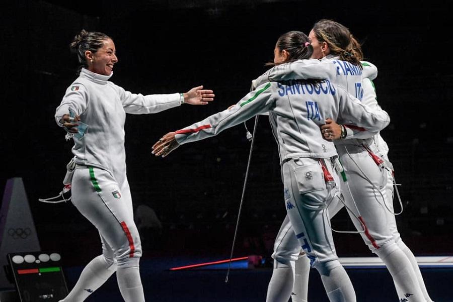 Scherma, Olimpiadi Tokyo: le spadiste sono di bronzo! Una grande Italia batte la Cina