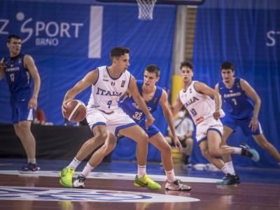 Basket: Italia, sconfitta con la Croazia nel secondo turno degli European Challengers Under 20 2021