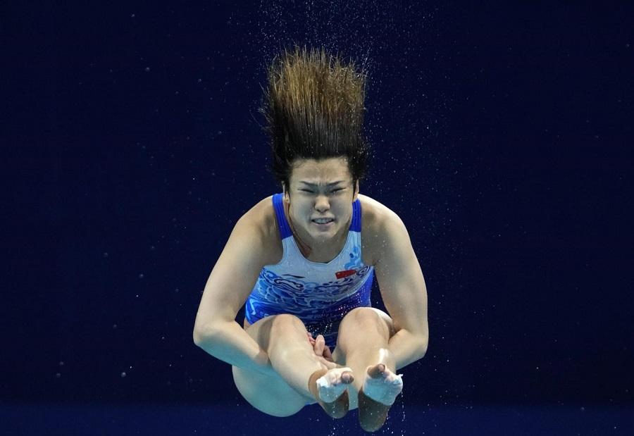 Tuffi, Olimpiadi Tokyo: Shi Tingmao prenota la medaglia d'oro. La cinese domina la semifinale dai tre metri