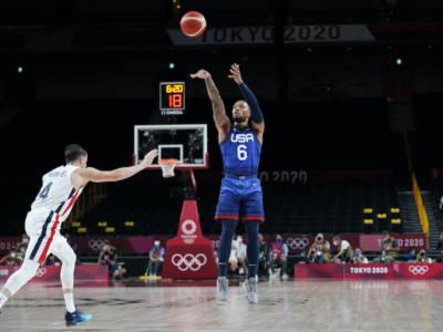 LIVE Stati Uniti-Iran 120-66, Olimpiadi basket in DIRETTA: prima vittoria per gli USA che dominano