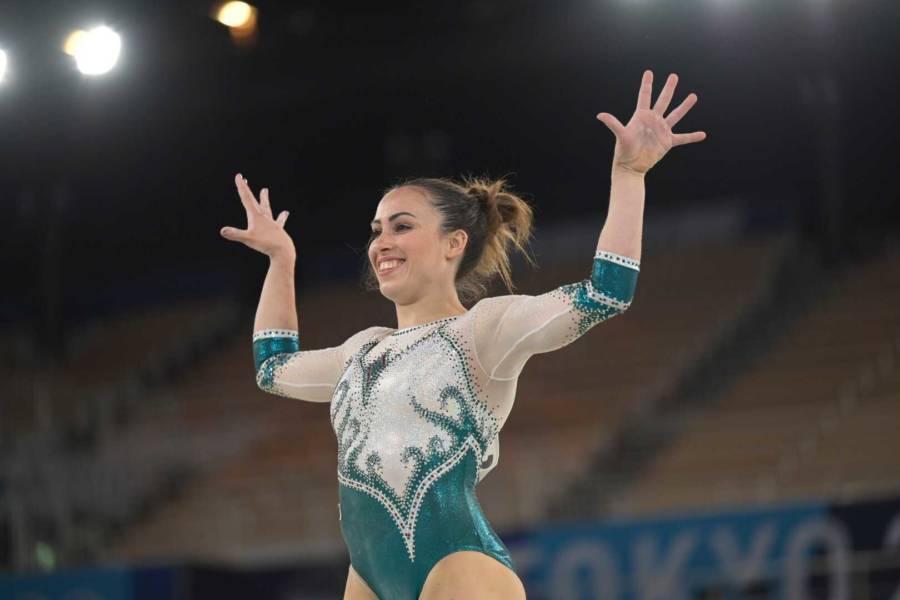 Vanessa Ferrari seconda nel corpo libero va alla ricerca di una medaglia da sogno
