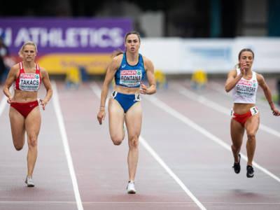 Atletica, Europei U23: Vittoria Fontana 11.28 ventoso sui 100, sei azzurri volano in finale. Selvarolo 4°