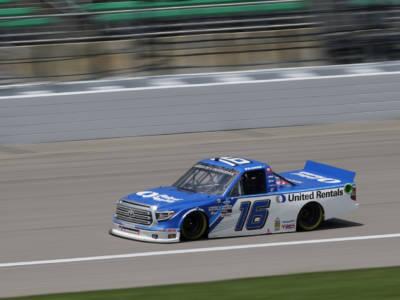 NASCAR Truck Series, Austin Hill vince nel Glen grazie ai fulmini