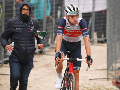 Vuelta a España 2021, Giulio Ciccone si ritira a causa di una caduta