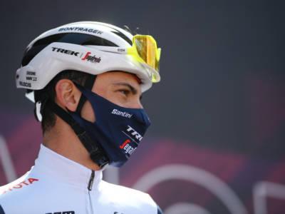 Vuelta a España, Giulio Ciccone si aspettava di più. Ma la condizione sembra in leggera crescita