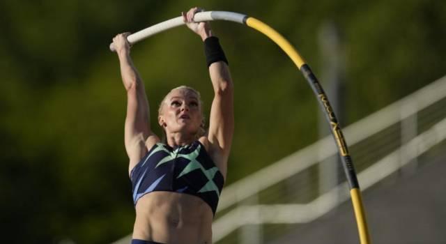 Atletica, Olimpiadi Tokyo: Katie Nageotte vince col brivido nel salto con l'asta femminile, sul podio anche Sidorova e Bradshaw