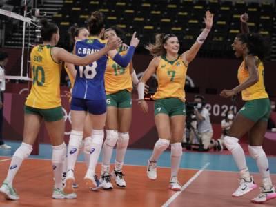 Volley femminile. Il Brasile non trema e vola in finale. Termina la folle corsa della Corea del Sud