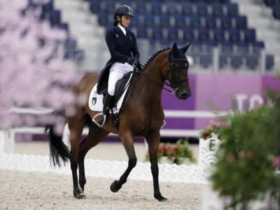 Equitazione, Eventing Nations Cup Le Pin au Haras 2021: Italia quinta dopo la prima giornata di dressage