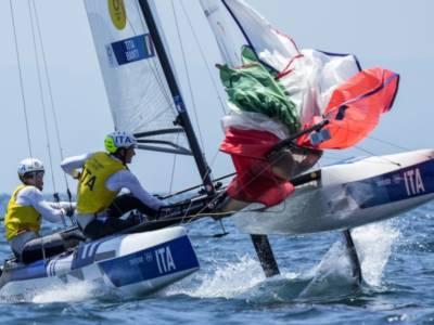 Vela, Ruggero Tita e Caterina Banti: è un vento d'oro! Campioni olimpici tra i Nacra17!