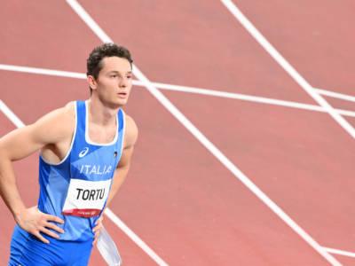 """Filippo Tortu corre 20.11 sui 200: """"Potevo fare meglio quest'anno, sterzata mentale dopo le Olimpiadi"""""""