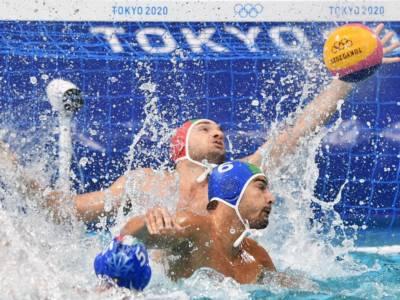 Pallanuoto, Olimpiadi Tokyo: Italia-Serbia 6-10. Settebello travolto dai campioni in carica