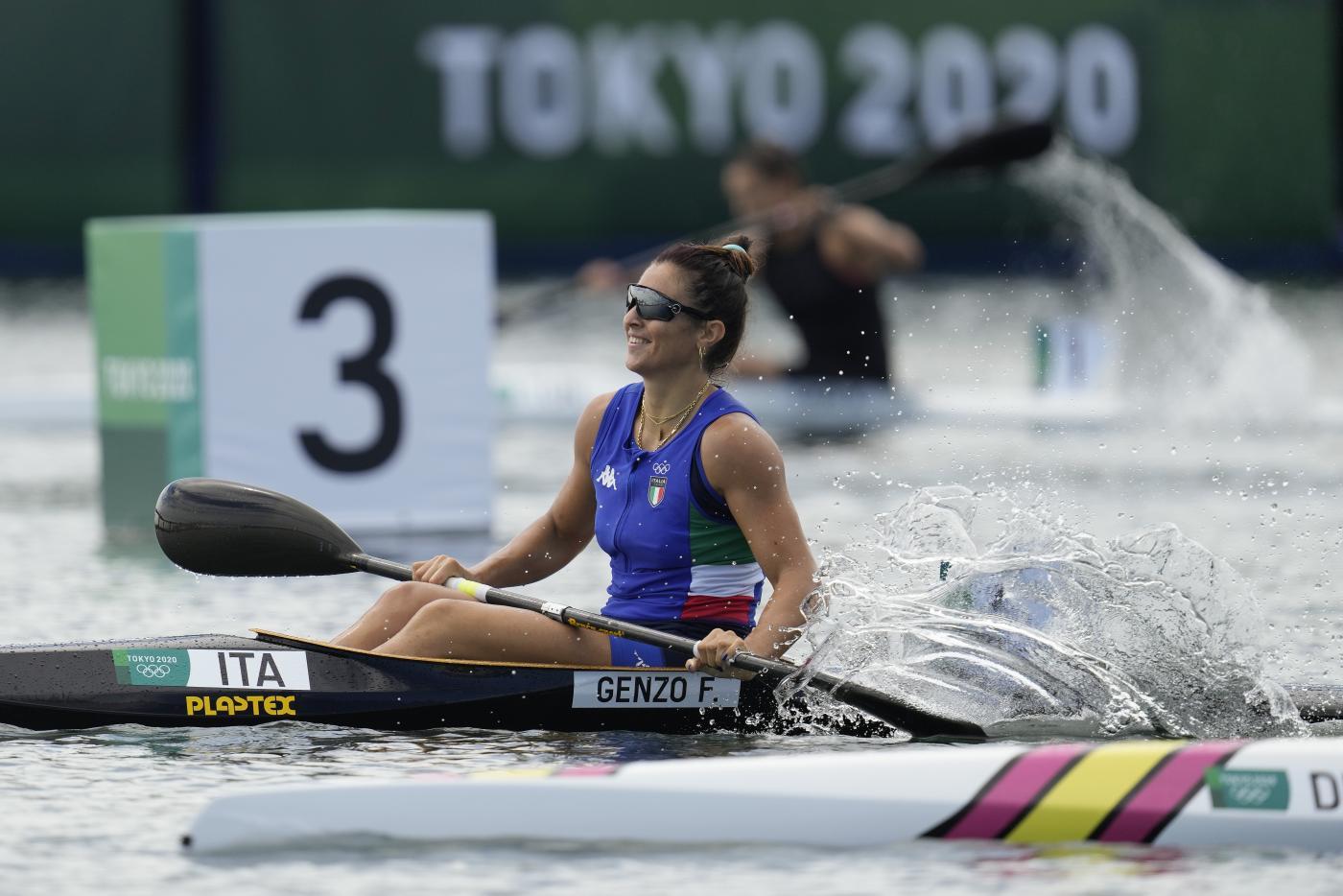 Canoa velocità, Francesca Genzo in finale alle Olimpiadi nel K1 200 metri!