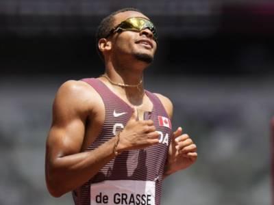 Atletica, Olimpiadi Tokyo: Andre De Grasse è il successore di Bolt nei 200! 19″62 spettacolare, battuti gli americani