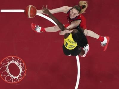 Basket femminile, Olimpiadi Tokyo: Breanna Stewart non perdona, Stati Uniti in semifinale battendo l'Australia