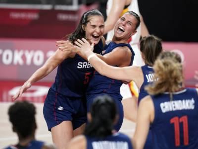 Basket femminile, Olimpiadi Tokyo: la Serbia pone fine al sogno Cina, l'ultimo quarto vale la semifinale