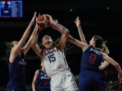 VIDEO USA-Serbia, Olimpiadi Tokyo basket femminile: Stati uniti in finale anche con le donne