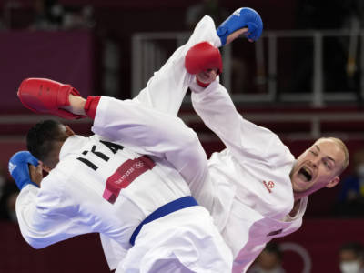 Karate, Olimpiadi Tokyo: Luigi Busà supera Stanislav Horuna e ora lotterà per l'oro contro Rafael Aghayev