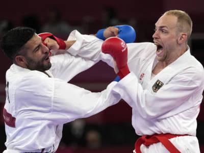 Karate, Luigi Busà in semifinale alle Olimpiadi: sconfitto Aghayev! Medaglia sicura, l'Italia batte il record