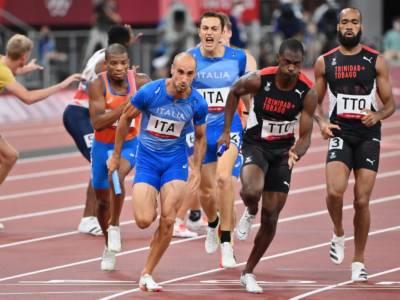"""Atletica Olimpiadi Tokyo, Davide Re: """"Siamo amareggiati, ci credevamo tantissimo. E' stato bellissimo provare a giocarsi una medaglia"""""""