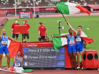 Atletica, i tempi lanciati dell'Italia nella 4×100: Tortu e Jacobs sotto i 9″!