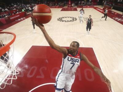 Basket, Kevin Durant l'uomo delle finali olimpiche. Sfiorati i 30 punti come a Londra e Rio