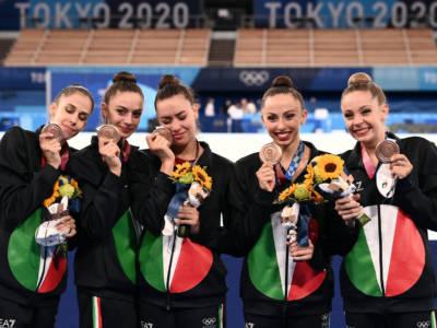 Ginnastica ritmica, Italia sul podio alle Olimpiadi per la terza volta. I precedenti delle Farfalle. E ai Mondiali…