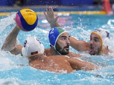 Pallanuoto, Olimpiadi Tokyo: Italia-Montenegro 18-17 dtr. Settebello settimo