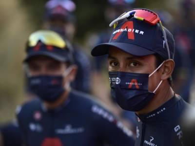 """Vuelta a España 2021, Egan Bernal: """"Sono davvero contento per il successo di Jakobsen. Lui è un esempio per tutti noi"""""""