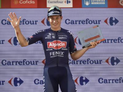 Vuelta a España 2021, le pagelle della quinta tappa: Philipsen e l'Alpecin superlativi. Ancora bene Dainese, Demare stenta