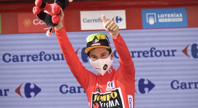 Vuelta a España 2021, Primoz Roglic fa tris: eguagliati Heras e Rominger. Lo sloveno si conferma il n.2 attuale alle spalle di Tadej Pogacar