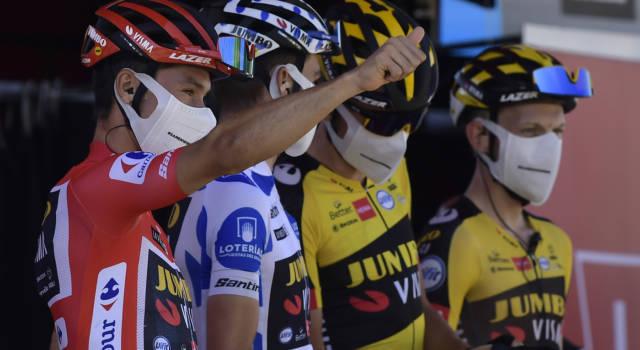"""Vuelta a España 2021, Primoz Roglic: """"Onorato di vincere per la terza volta. Oggi un'altra bella giornata"""""""
