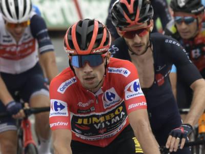 LIVE Vuelta a España 2021 in DIRETTA: fuga bidone! Roglic cade in discesa e perde la maglia roja! Ciccone in crisi