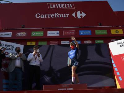 """Vuelta a España 2021, Fabio Jakobsen: """"Contento di aver vinto davanti a Patrick Lefevere"""""""