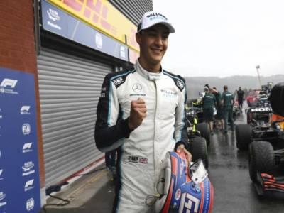 """F1, George Russell: """"Sono felicissimo per il terzo posto in qualifica. Per domani puntiamo al podio"""""""