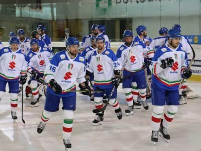 Hockey ghiaccio, i convocati dell'Italia per il Preolimpico di Riga. In palio un pass per Pechino 2022