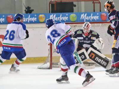 Hockey ghiaccio, Preolimpico Riga 2021: Italia-Ungheria 1-2. Gli azzurri lottano, i magiari vincono
