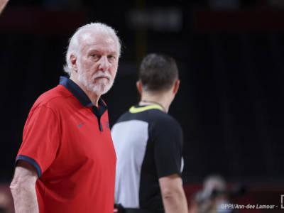 """Basket, Olimpiadi Tokyo, Gregg Popovich: """"Grande rispetto per la Francia, hanno un grande gruppo"""". E su Kevin Durant…"""